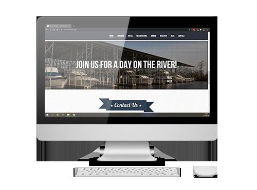 website design marinas
