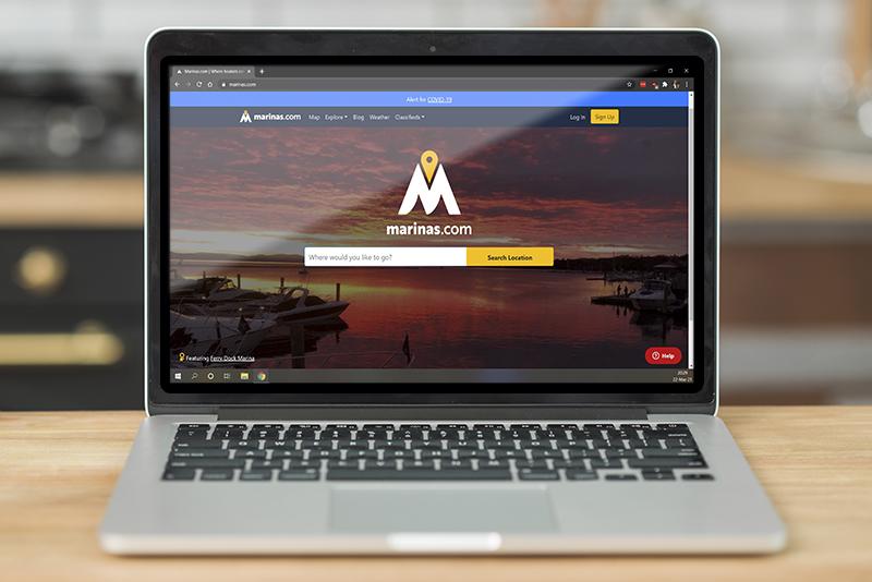 using marinas com for boat marina marketing